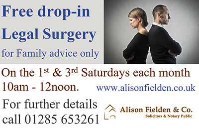 Free Drop-in Legal Surgery for Family advice only
