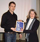 Presentation of award